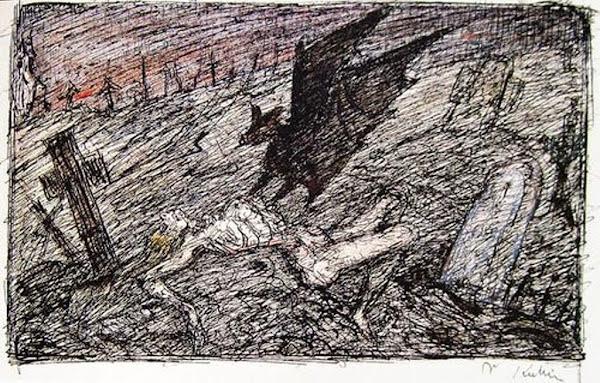 Alfred Kubin, Vampire (1910)