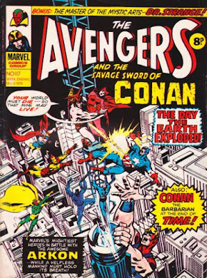 Marvel UK, Avengers #117, Arkon