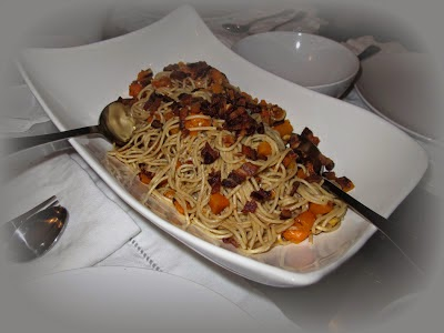 Roasted Butternut Squash Pasta with Sage, Brown Butter & Hazelnuts