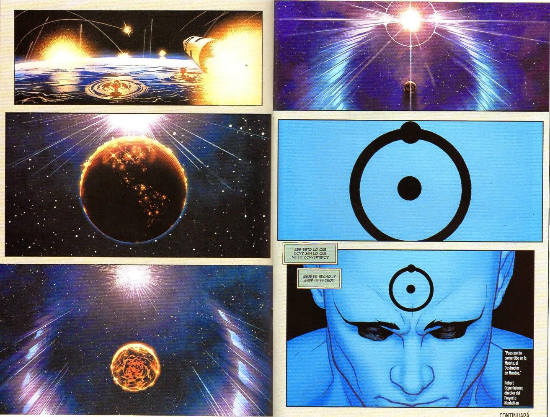 Fantástica transición cósmica.
