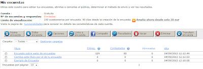 mis encuestas captura de pantalla