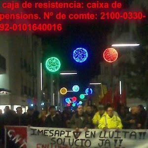 Facebook dels i les treballadors/es d´IMESAPI de Granollers i Les Franqueses