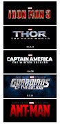 Hello MovieGoers! At San Diego Comic Con, Marvel revealed 5 official logos .