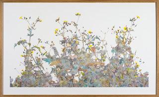Richard Müller: Plantes poussant devant l'atelier 9