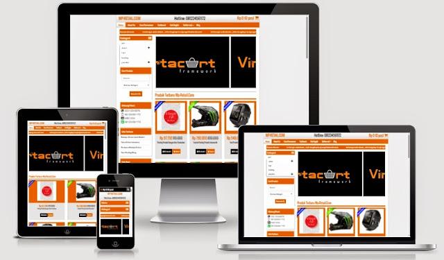 Template Toko Online Responsive WP Retail Baru