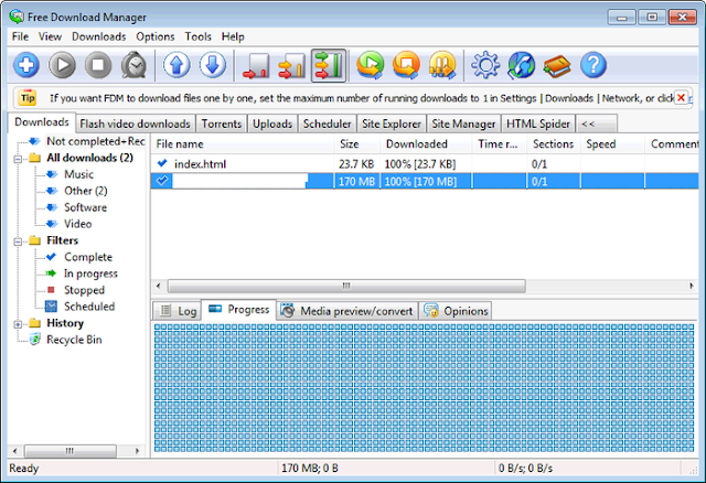 Free Download Manager Software Downloader Alternatif IDM