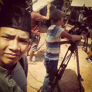 Foto Angga Putra Di Lokasi Syuting