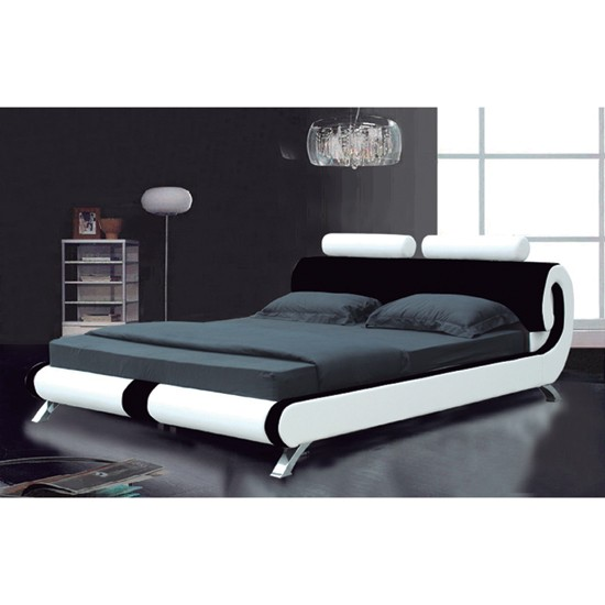 Foundation dezin decor low height comfort bed for Height of platform bed