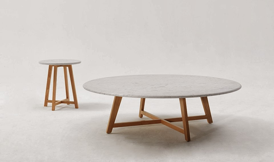 Iko coffee and side tables from Jardan, Melbourne 2014