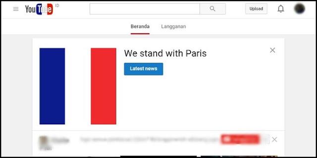Pasca teror Paris, situs sosial media ramai tunjukkan solidaritas