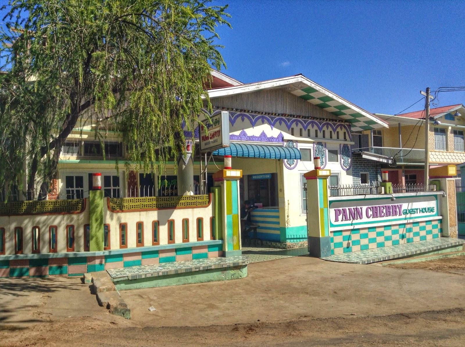Pann Cherry Guesthouse - Bagan Myanmar