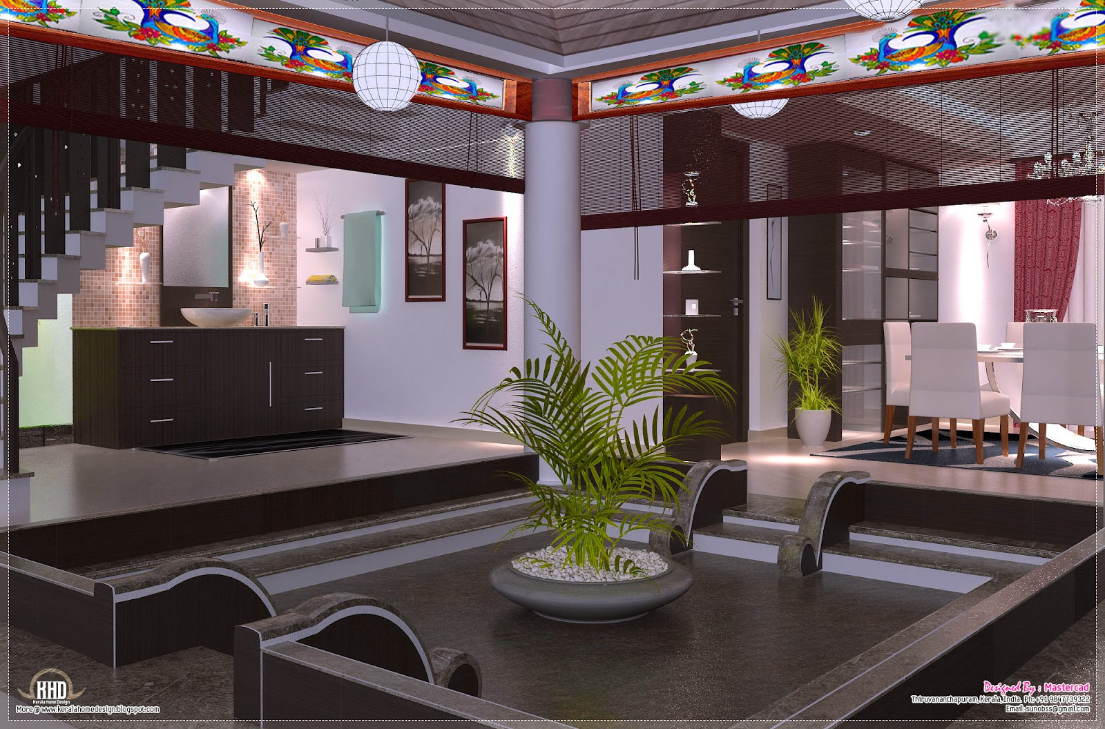 Interior design ideas kerala home design and floor plans for Kerala model interior designs