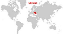 Here's Ukraine!