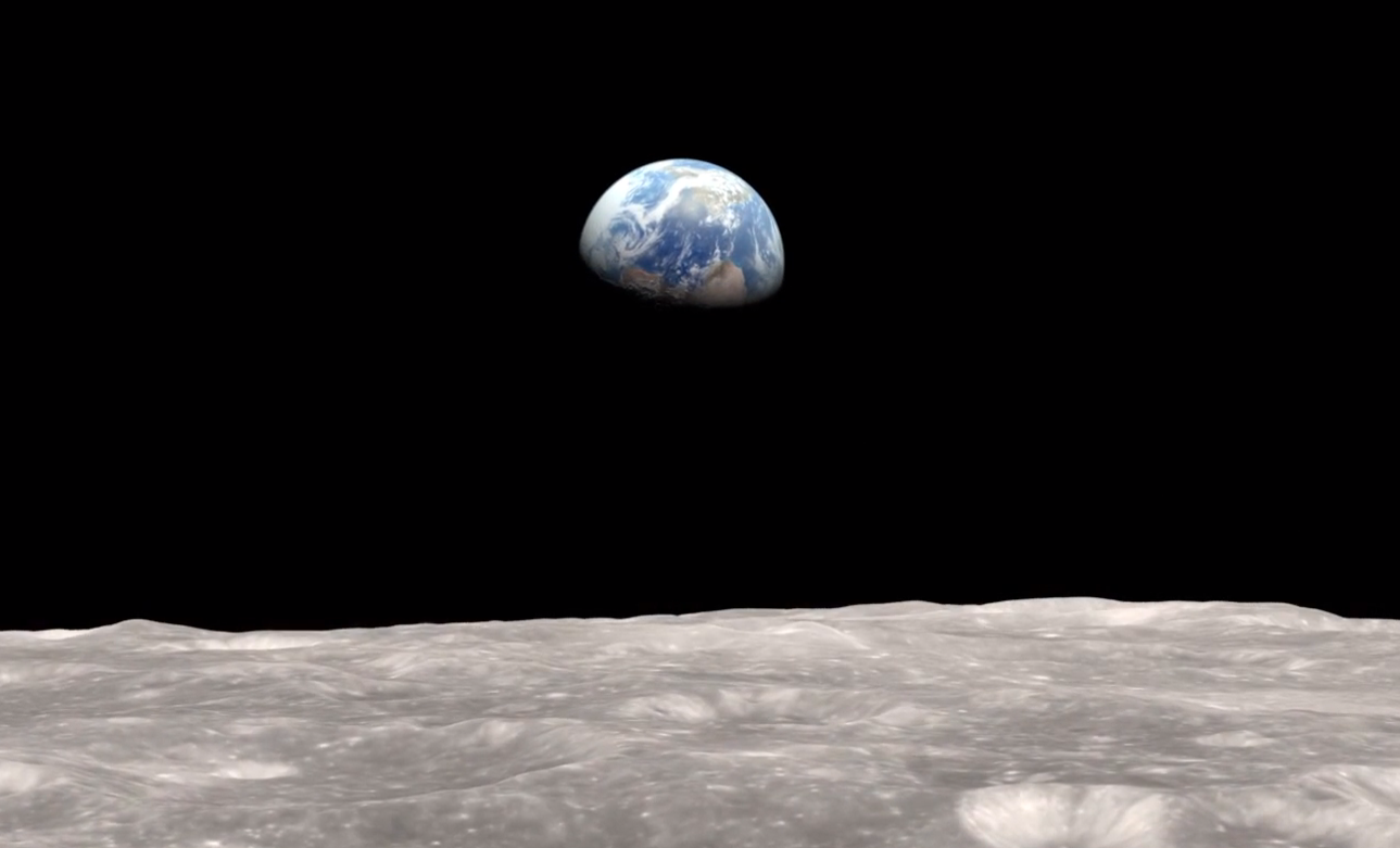 NEW PAPYRUS: Astronauts View First Earthrise Aboard Apollo 8