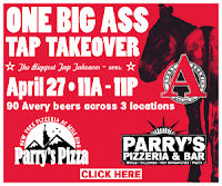 Parry's Pizza One Big Ass Tap Takeover