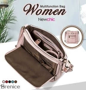 Leather Multifunction Crossbody Bag