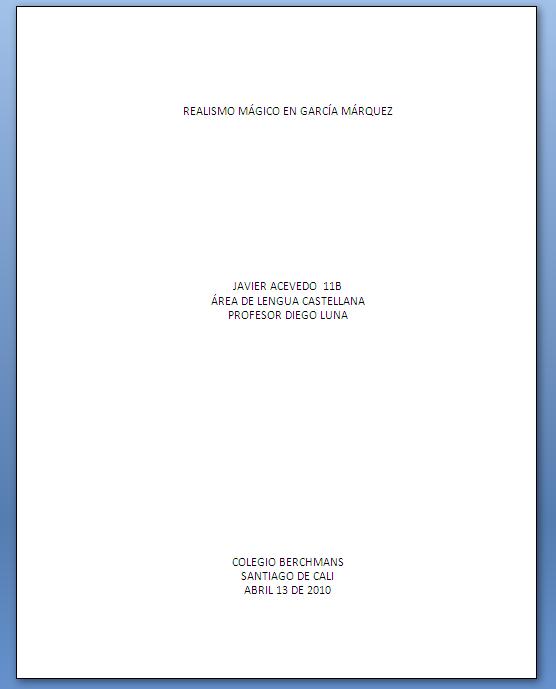 Normas ICONTEC para trabajos escritos ~ .: RUBEN ALEGRIAS :.