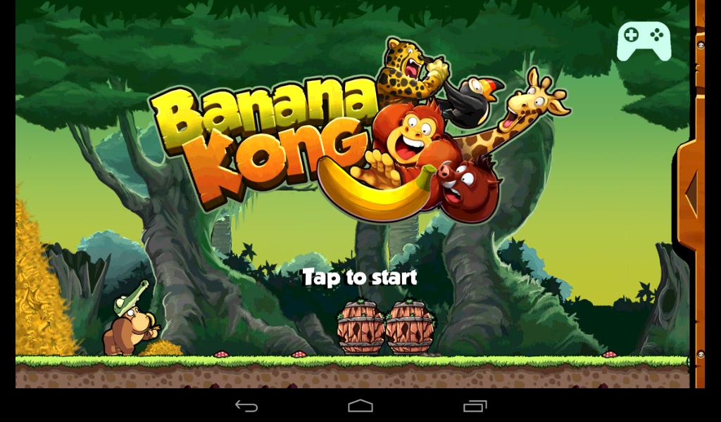 Review Game Android Banana Kong