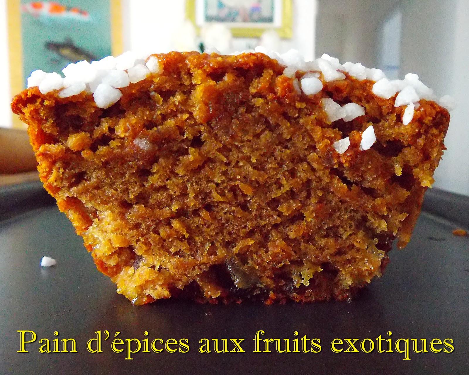 pain d 39 pices aux fruits exotiques blogs de cuisine. Black Bedroom Furniture Sets. Home Design Ideas