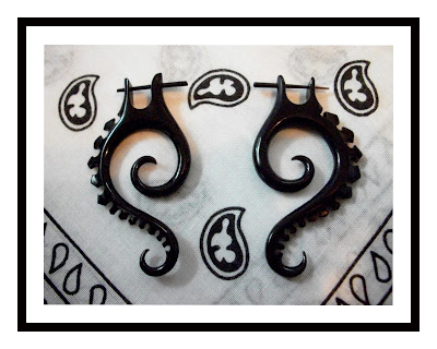 Tribal-earrings