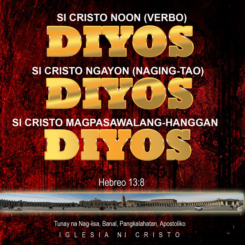 Si Cristo ay Diyos Magpakailanman!