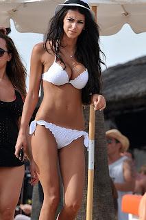 Georgia Salpa Bikini Candids