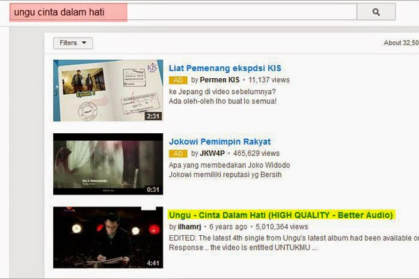 Cara Download MP3 dari Youtube GRATIS