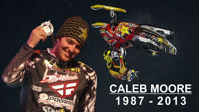Caleb Moore Crash Death