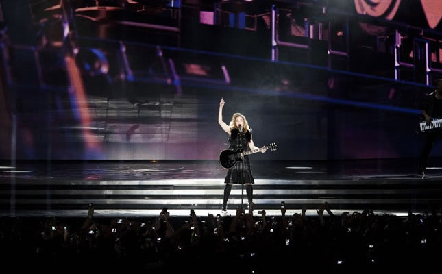 Madonna fez primeiro show da turnê 'MDNA World Tour' (Foto: Getty Images)