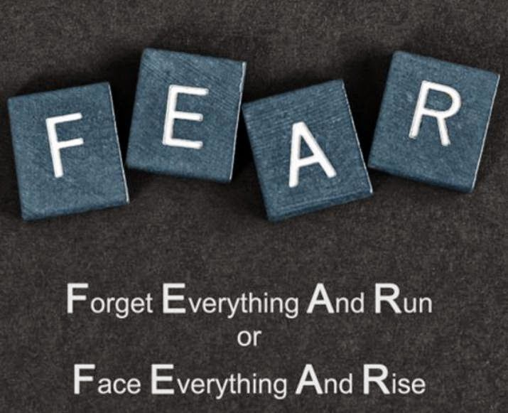 No le temamos al miedo