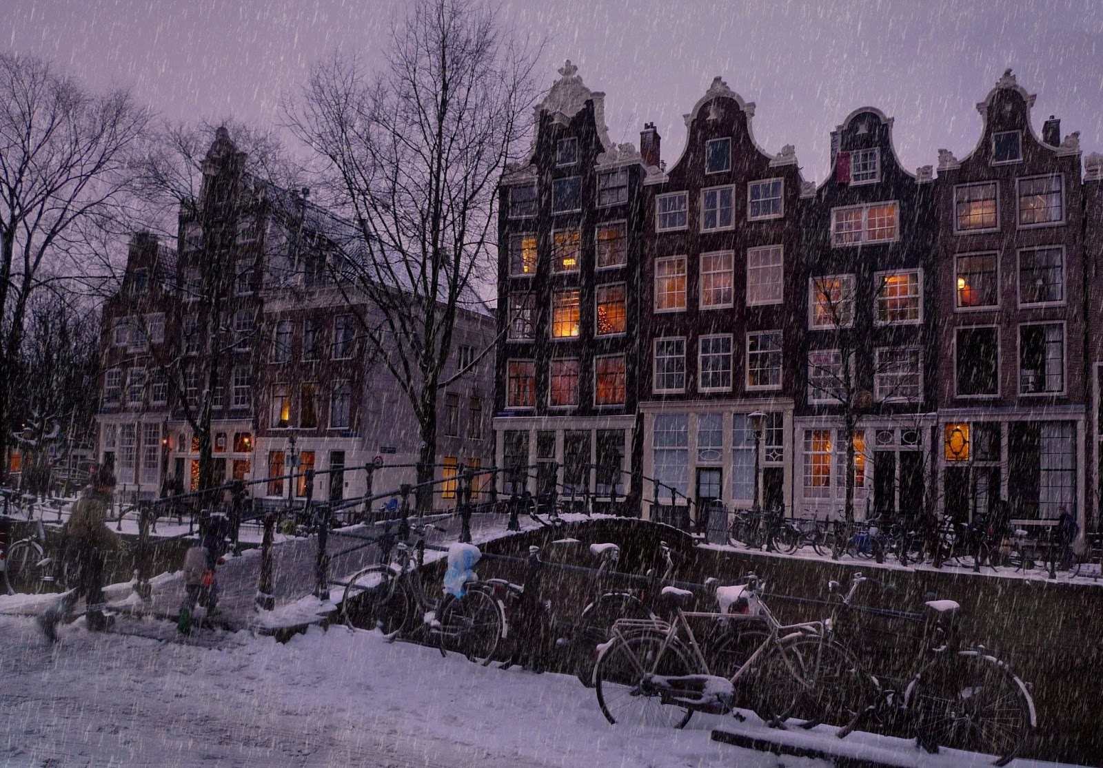 Amsterdam Netherlands  city photo : Amsterdam Netherlands Snow