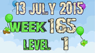 Angry Birds Friends Tournament level 1 Week 165