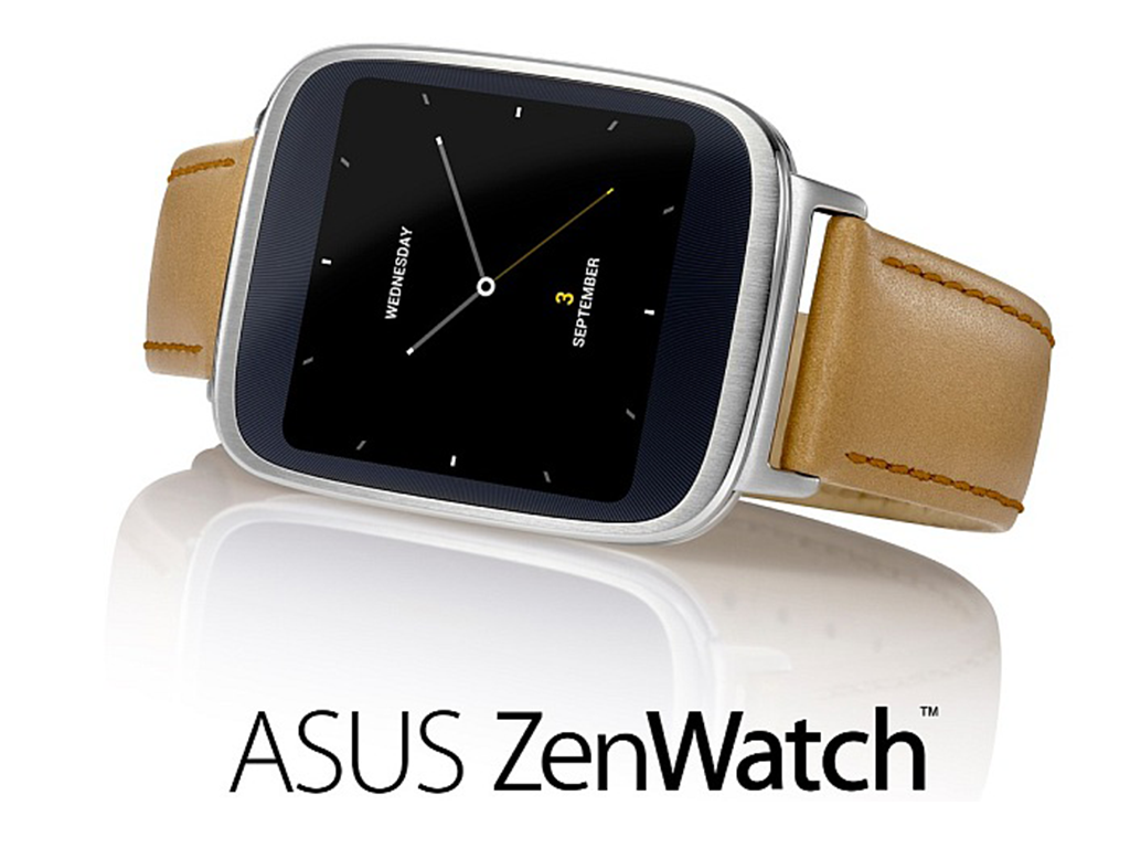 Asus ZenWatch launched at IFA 2014