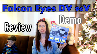 Falcon eyes DV 96V box and review