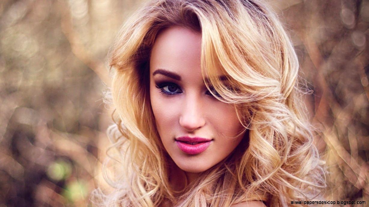 Portrait Beauty Girl Pink Lips Fashion Model Hd Wallpaper