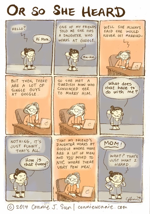 Asian Moms Say The Darndest Things. First Cartoon Of The New Year!