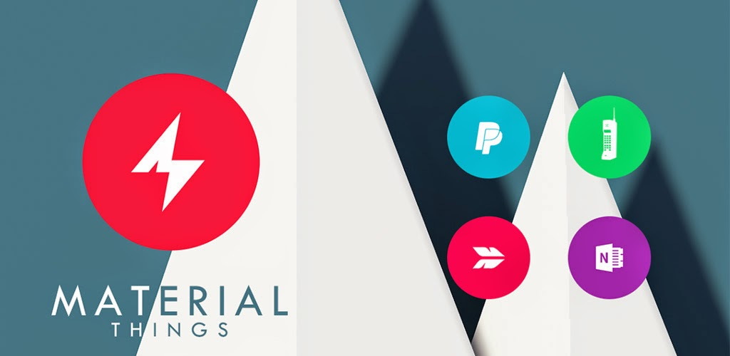 Material Things Lollipop Theme [v2.0.0 Android Apk File]