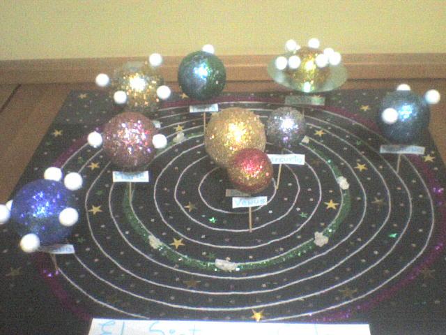 Maquetas Del Sistema Planetario Solar