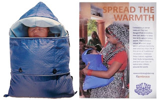 Embrace Baby infant warmer for vulnerable babies.