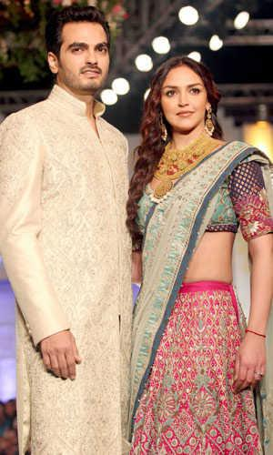 bollywood, tollywood, hot, Esha, Deol, and, Bharat, Takhtani, at, Bridal, Fashion, Week, 2012