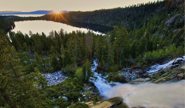Cascada Sunrise, Lake Tahoe, California