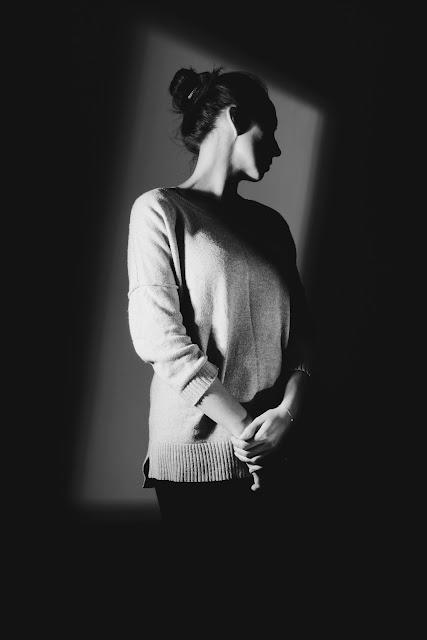Koncepcyjna fotografia portretowa. Portret czarny. fot. Łukasz Cyrus, Ruda Slaska