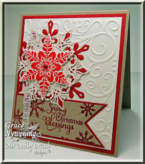 ODBD Products - Sparkling Snowlakes, ODBD Custom Snowflakes Die, Snowflake Sentiments, Snowflake Mini
