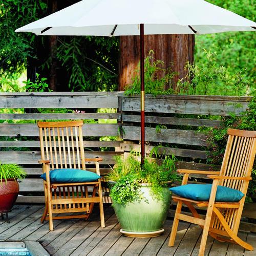 Backyard Umbrella Ideas : Gone Thrifting Creative Ideas for Patio Umbrellas