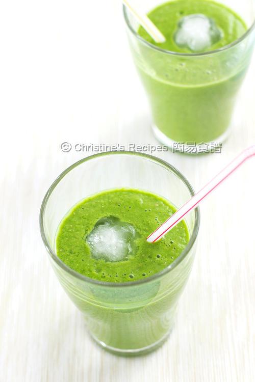 綠色果泥【排毒健康飲品】Green Smoothie
