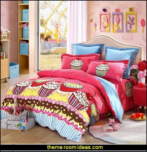 Cupcake Room Ideas : Decorating theme bedrooms - Maries Manor: cupcakes bedroom ...