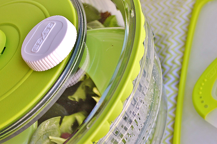 Dexas Turbo Collapsible Salad Spinner- Dexas International makes thoughtful solutions for the modern kitchen with attention to design and detail.
