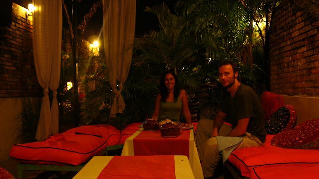 Restaurante marroquí en Phom Phen.