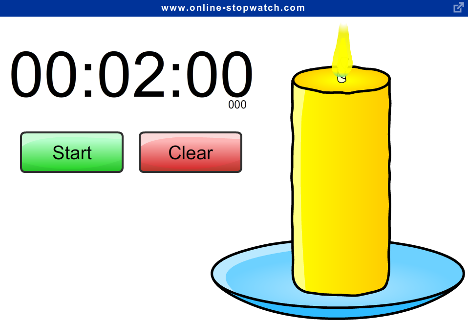 Online Stopwatch - easy to use - m