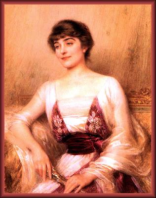 vintage lady dama victoriana